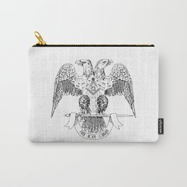 Two-headed eagle as Masonic symbol Carry-All Pouch