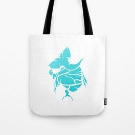 Turquoise Ganesha Tote Bag