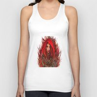 red riding hood Tank Tops featuring  Red Riding Hood by ururuty
