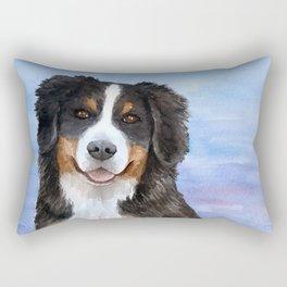 Dog 125 Bernese Mountain Rectangular Pillow