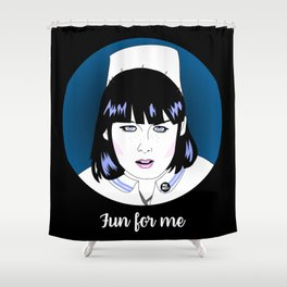 Fun for Me Shower Curtain