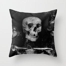 Skeletal Throw Pillow