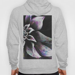 Fluid Nature - Marbled Flower Hoody