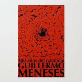 100 años natalicio de Guillermo Menese Canvas Print