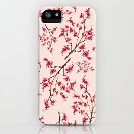 Japanese Cherry Blossom iPhone Case