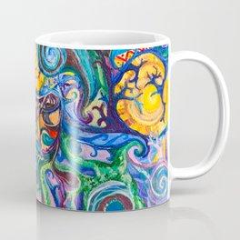 Colorful Brain Clutter Coffee Mug