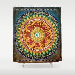 Mandala Epiphaneia Shower Curtain