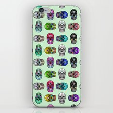Say It with Skulls iPhone Skin