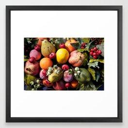 Christmas Treats Framed Art Print