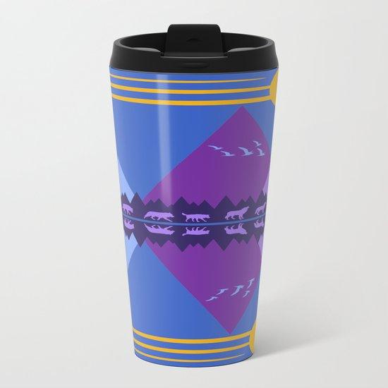 Wolf Pack Passage Metal Travel Mug