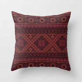vyshyvanka 3 Throw Pillow