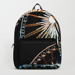 Gdansk ferris wheel Backpack