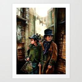 Oliver Art Print