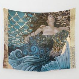 Mermaid Bliss Wall Tapestry
