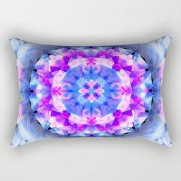 Fractured Light Mandala Rectangular Pillow