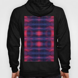 synth pattern Hoody