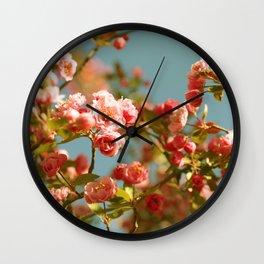 Spring Things Wall Clock