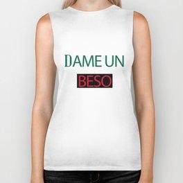 Dame Un Beso (Give Me a Kiss) Biker Tank