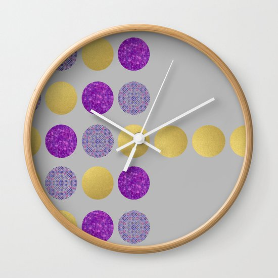 Dot, Dot, Dot Wall Clock