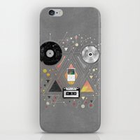evolution iPhone & iPod Skins featuring EVOLUTION by rpcabardo