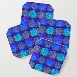 Many Blue Stars Coaster