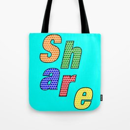 SHARE – my 3 best Skills Tote Bag