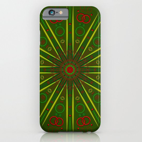 Greens and Reds iPhone & iPod Case