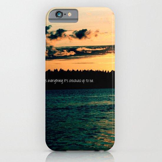 Summer Love iPhone & iPod Case