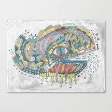 Ballenato Canvas Print