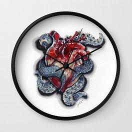 Cthulhu Heart Wall Clock