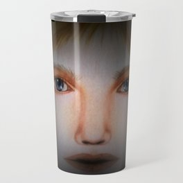 Darkness ---- Face Art by Saribelle Rodriguez Travel Mug