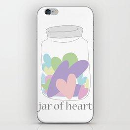 Jar of Hearts iPhone Skin