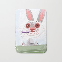 The Rabbit Diaries: Time to Clean Your Teeth (c) 2017 Bath Mat