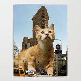 Catiron Building Poster