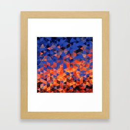 Christals Framed Art Print