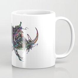 Beetle 1. Color & Black on white background Coffee Mug