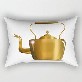 Victorian Copper Kettle Rectangular Pillow