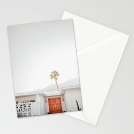 Palm Springs Red Stationery Cards