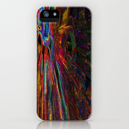 Re-Created Rapture 4 by Robert S. Lee iPhone Case