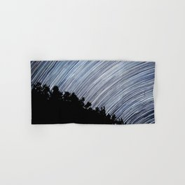 Starry Night Time Lapse Hand & Bath Towel