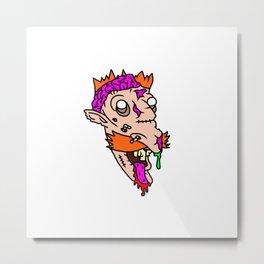 Nigel Thornberry Needs Brainzzz... Metal Print