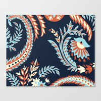 flora Canvas Prints featuring Flora by Tracie Andrews