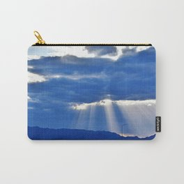 Driving on the Salt Flats Carry-All Pouch