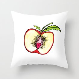"""Apples"" Throw Pillow"
