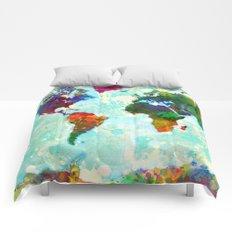 World Map - 1 Comforters