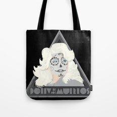 Dolly de los Muertos Tote Bag