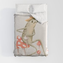 Awkward Toad Duvet Cover