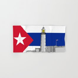 Faro Castillo del Morro Havana Hand & Bath Towel