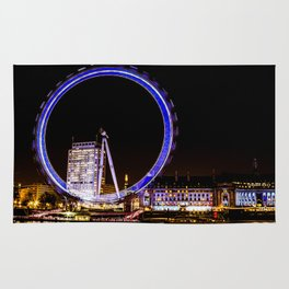 The Eye of London Rug