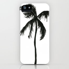 The palm tree iPhone Case